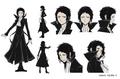 Ryunosuke Akutagawa Anime Character Design