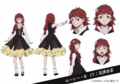 Lucy Montgomery Anime Character Design