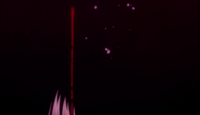 Ending 1 - Akutagawa shreds red tear (frame 2)