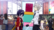 Atsushi encounters Kyoka