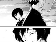 Dazai and Atsushi after the cannibalism (manga)