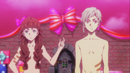Atsushi and Lucy without clothes