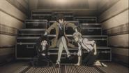 Dazai making Akutagawa and Atsushi work together