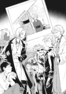 STORM BRINGER Chuya being congratulated on his first year anniversary in the mafia