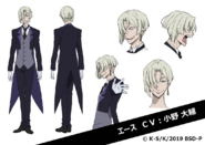 Ace Anime Character Design