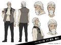 Herman Melville Anime Character Design
