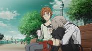 Tanizaki comforting Atsushi