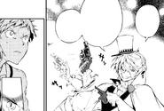 Gogol explains his ability to Atsushi (manga)