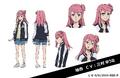 Yuan Anime Character Design