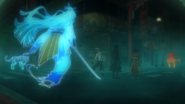 Atsushi, Akutagawa, and Kyoka vs. their abilities