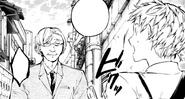 Tonan approaches Atsushi (manga)