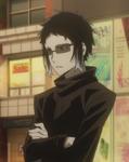 Akutagawa's attire when on his day-off