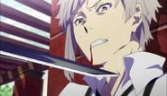 Atsushi threatened by Koyo