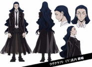 Howard Lovecraft Anime Character Design