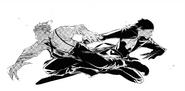 Atsushi and Akutagawa switch places (manga)