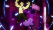 Atsushi releasing himself from Haruno's strangle