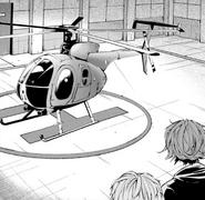 Tanizaki introduces Night Crow to Atsushi (manga)