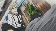 Atsushi after discovering that the orphanage director was dead