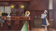 Atsushi and Kenji meets Lucy at Cafe Uzumaki