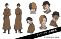 Sōseki Natsume Anime Character Design