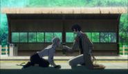 Dazai lecturing Atsushi
