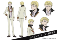 Francis Fitzgerald Anime Character Design