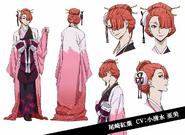 Koyo Ozaki Anime Character Design