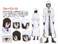 Fyodor Dostoevsky (DEAD APPLE) Anime Character Design