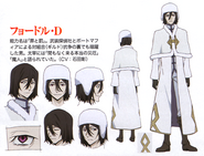 Fyodor Dostoevsky (DEAD APPLE) Anime Character Design