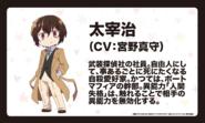 Osamu Dazai (Wan! Anime Character Design)