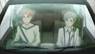 Atsushi and Tanizaki on the way to get the Night Crow