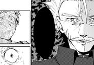 Atsushi frightened at Fukuchi (manga)