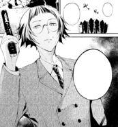 Ango corners Atsushi's group (manga)