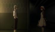 Atsushi talking to Lucy