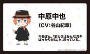 Chuya Nakahara 3 (Wan! Anime Character Design)