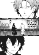 BEAST Oda and Dazai in a bar