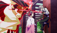 Atsushi attacked by Golden Demon