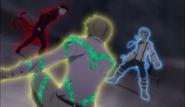 Akutagawa and Atsushi vs. Fitzgerald
