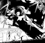 Akutagawa summons Rashomon (manga)