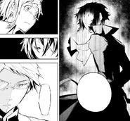 Kyōka reveals that Akutagawa controls the phone (manga)