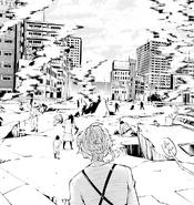 Atsushi sees the cursed citizens (manga)