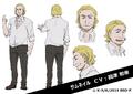 Zoopark's Boss Anime Character Design