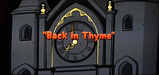 Back in Thyme Title card(CAM)