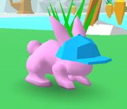 Baseball Cap Bunny Skate