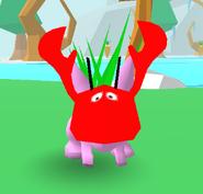 Lobster Hat Bunny Skate