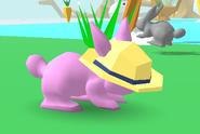Straw Hat Bunny Skate