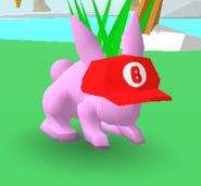Plumber Hat Bunny Skate
