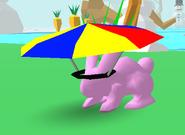 Umbrella Hat Bunny Skate