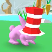 Cat Tophat Bunny Skate