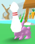 Bowling Pin Bunny Skate